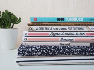 pile de livres de couture