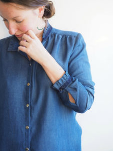 chemise Azur de face