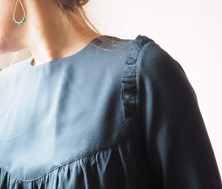 Louise mum, ma dernière blouse d'hiver