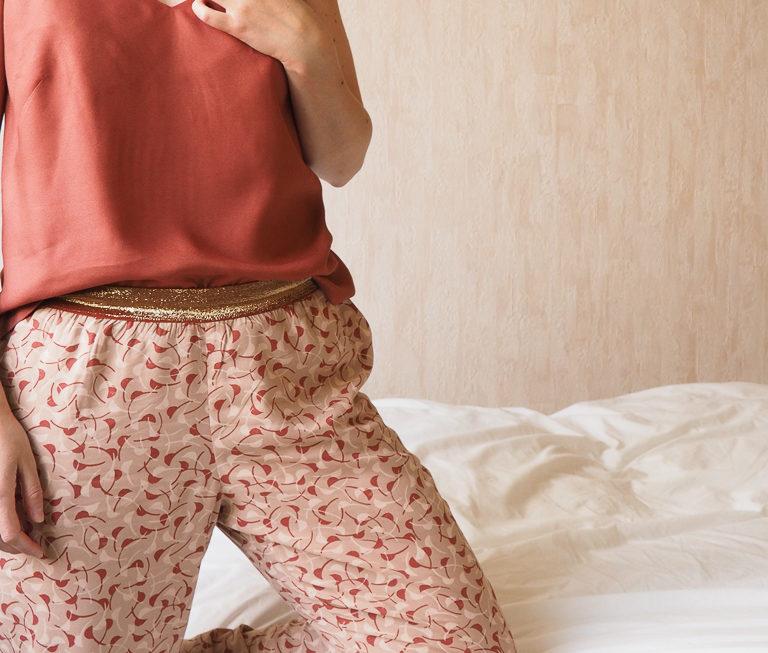 Calcium et Saïki, version pyjama